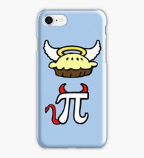 Angel Pie and Devil Pi iPhone Case/Skin