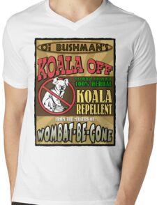 Koala Repellent Mens V-Neck T-Shirt