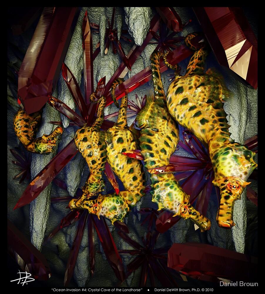 Ocean Invasion #4: Crystal Cave of the Landhorse by Daniel Brown