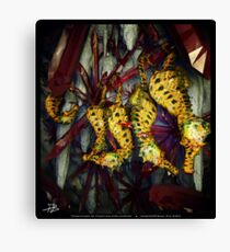 Ocean Invasion #4: Crystal Cave of the Landhorse Canvas Print