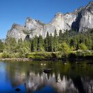 Merced River and Yosemite National Park by Jonathan Maddock