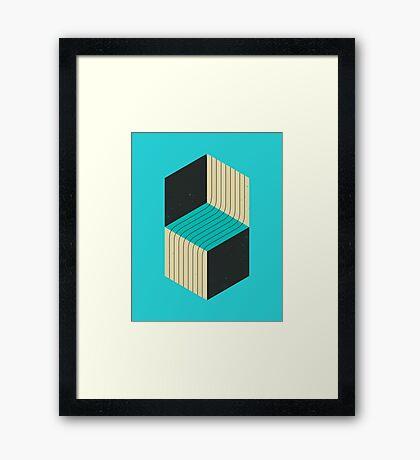 CUBES (7) Framed Print