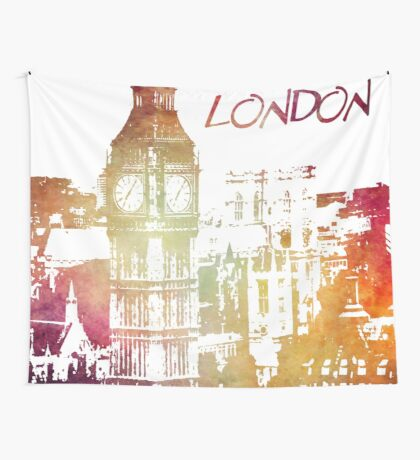 I love London Wall Tapestry