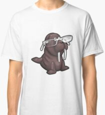 Walrus with Eyeglasses Classic T-Shirt