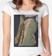 Corset Girl 4 Women's Fitted Scoop T-Shirt
