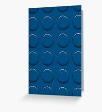 Lego Blue Greeting Card