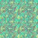 Teal Aquarium by hdettman