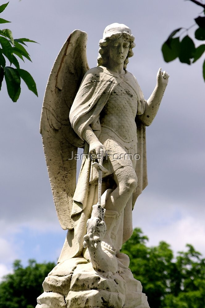 St. Joseph Catholic Cemetery - 2 by James Formo
