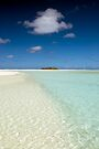 Honeymoon Island - Aitutaki by Michael Treloar