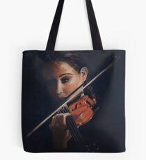 """Violin"" Oil on Canvas Tote Bag"