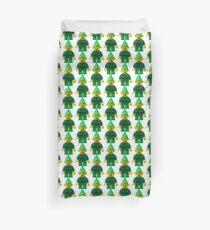 Little Green Elf Duvet Cover
