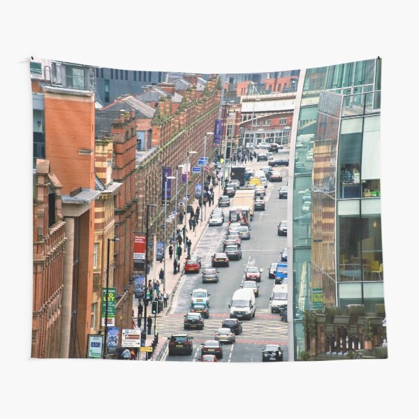 Urban Life, Manchester Tapestry