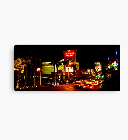 Caesars Palace and The Strip Canvas Print