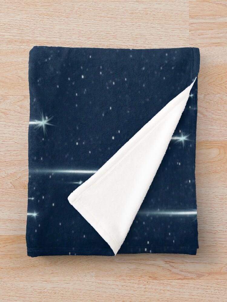 Alternate view of Wishing Stars Throw Blanket