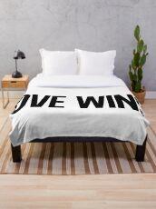 LOVE WINS. Throw Blanket