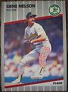 469 - Gene Nelson by Foob's Baseball Cards