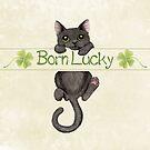 Schwarze Katze von LCWaterworth