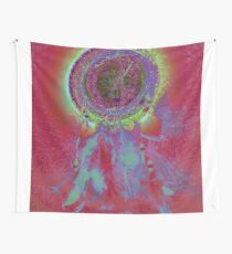 Very colorful Dreamcatcher Wall Tapestry