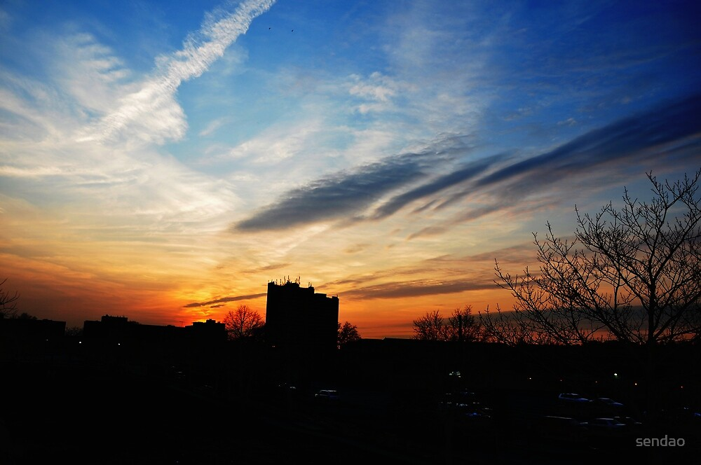 Sunset in the City (serie II). by sendao
