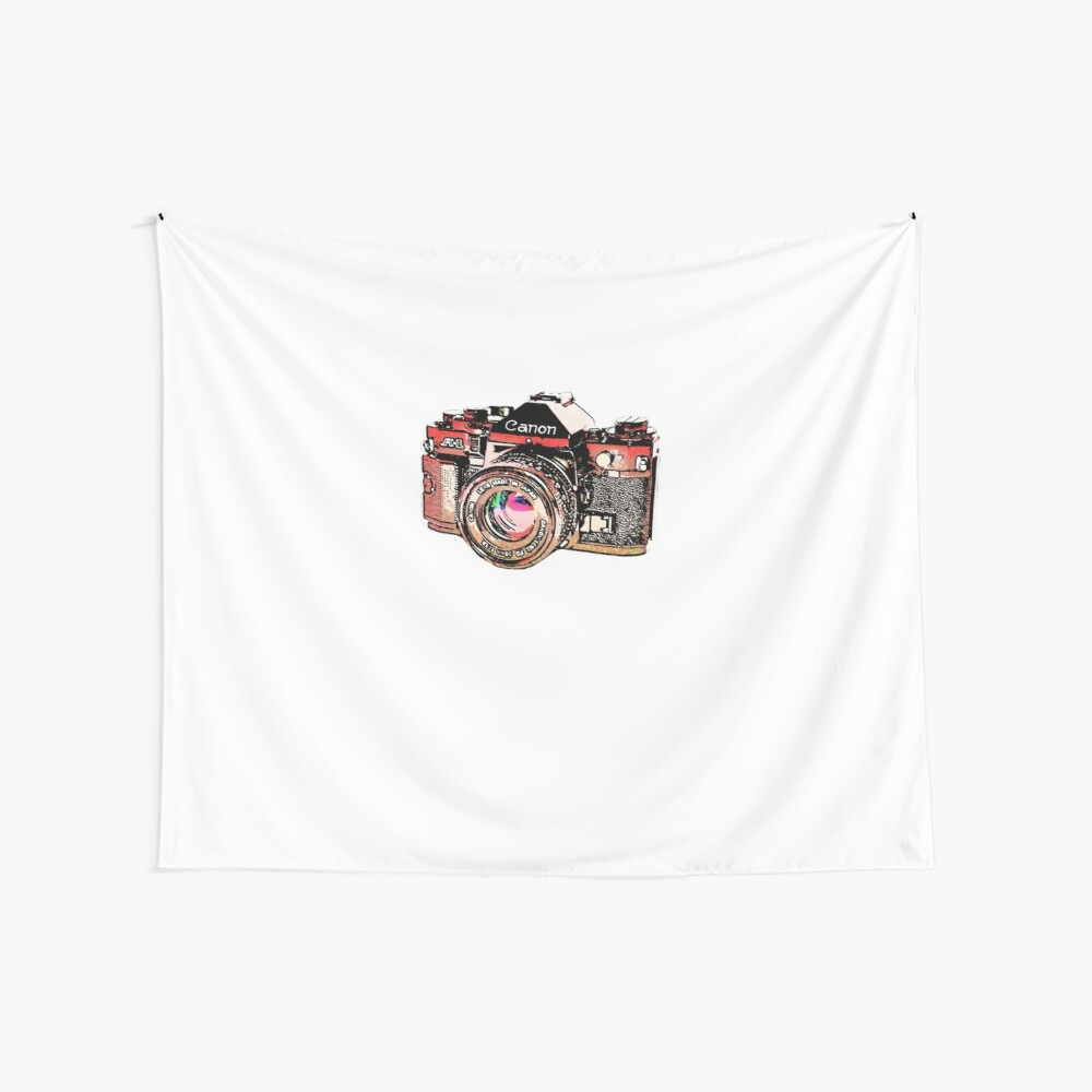Canon Wall Tapestry