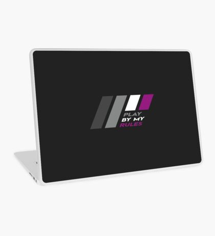 Pride Stripe: Play By My Rules Laptop Skin