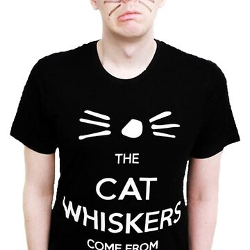 Phil Lester Cat Whiskers by vampirebanquet