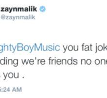 Zayn Malik Tweet Sticker
