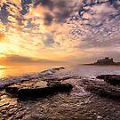 Bamburgh Castle Sunrise by DanielDent