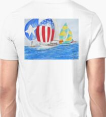 Parade of NATIONS... Spinnakers... T-Shirt