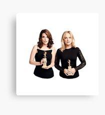 Tina and Amy Canvas Print