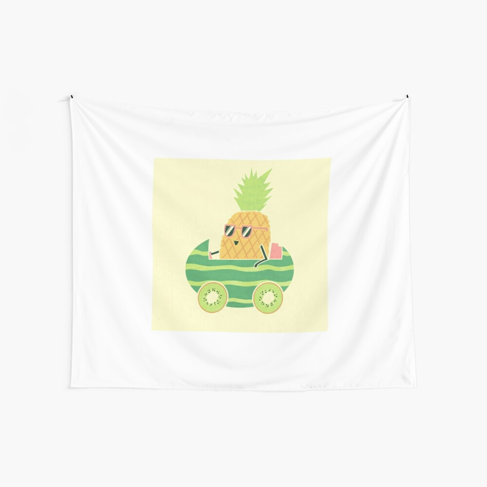 Summer Drive Wall Tapestry