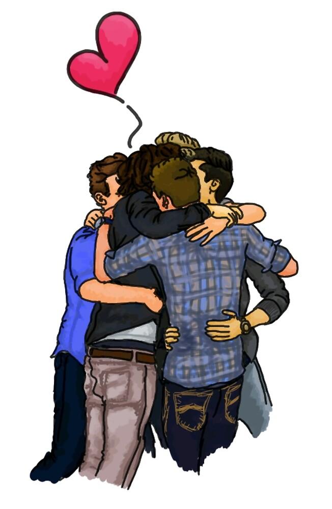 VMAs OT5 Hug by clevernessofyou