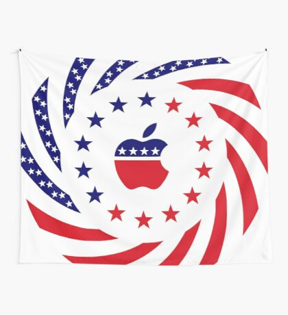 Apple Murican Patriot Flag Series Wall Tapestry