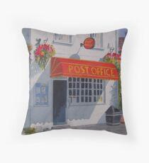 Strensall Post Office Throw Pillow