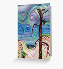Tree In The Desert Greeting Card