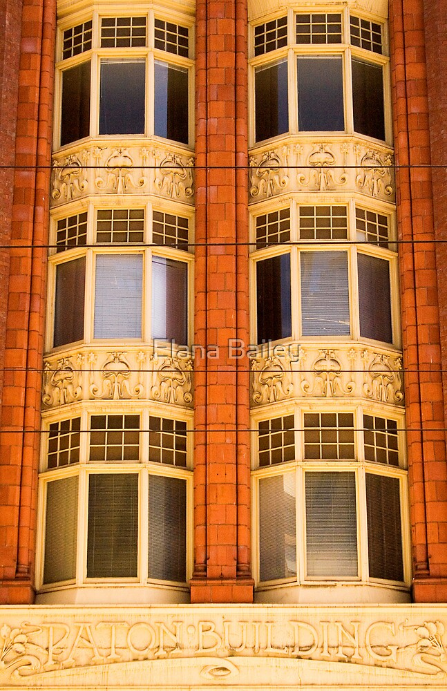 Paton Building, Melbourne by Elana Bailey