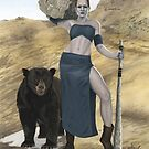 Stone Giant, part of the Giants series by KC Art