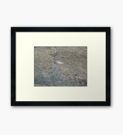 Winter Rains Framed Print