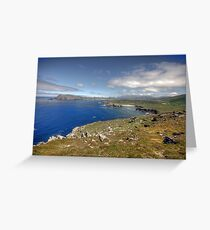 Slea Head Coastline Greeting Card