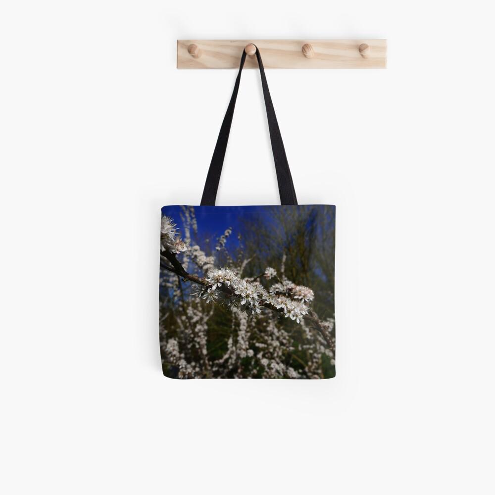 Blackthorn (Prunus spinosa) Tote Bag
