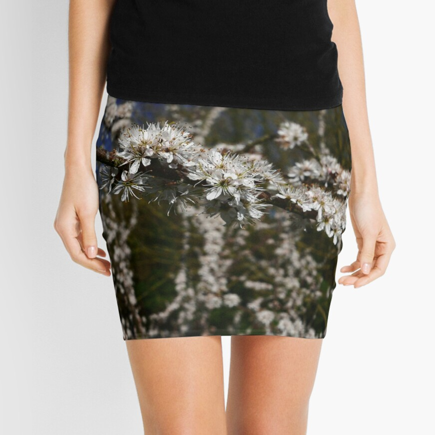 Blackthorn (Prunus spinosa) Mini Skirt