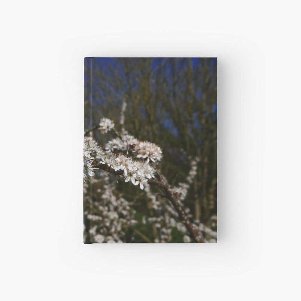 Blackthorn (Prunus spinosa) Hardcover Journal