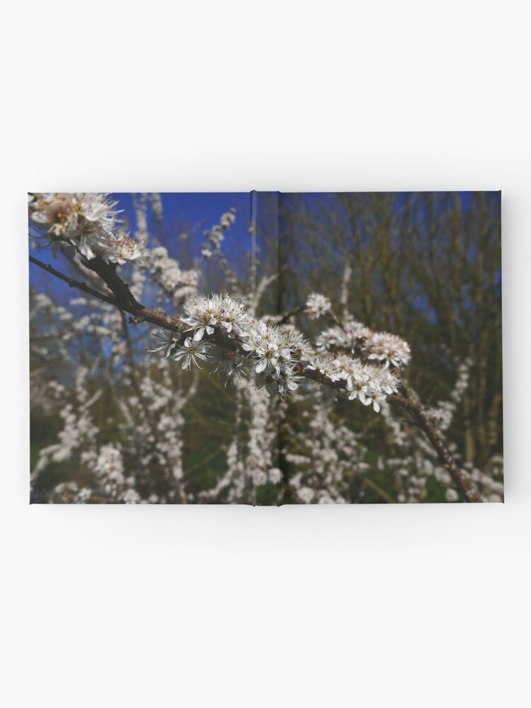 Alternate view of Blackthorn (Prunus spinosa) Hardcover Journal
