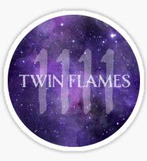 1111 Twin flames Sticker