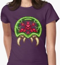 Super Metroid - Giant Metroid Womens Fitted T-Shirt