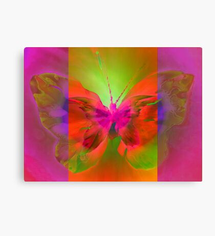 """Butterfly 2 (from """"Butterflies"""" collection) Canvas Print"""
