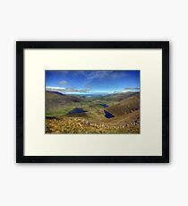 The Connor Pass Framed Print