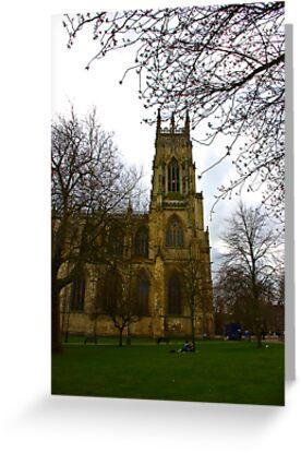 York Minster by Trevor Kersley