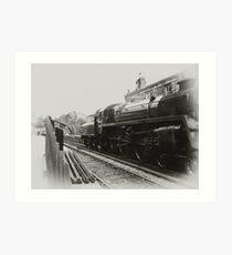 Goathland - North Yorks Moors Railway Art Print