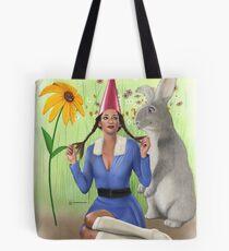 Lawn Gnome Tote Bag